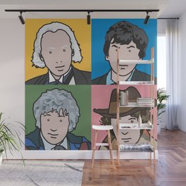 Doctors 1 to 4 Wall Mural