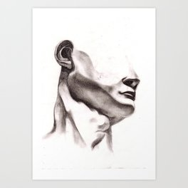 The Head of David Art Print