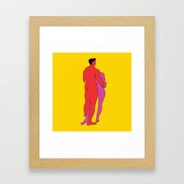 Just one last dance Framed Art Print