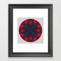 Mandala V Framed Art Print
