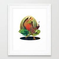 robin hood Framed Art Prints featuring Robin Hood by steeledart