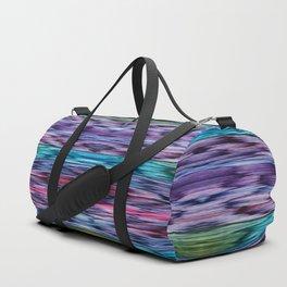 Abstract Watercolors Transformed Duffle Bag