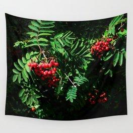Rowan-berry Wall Tapestry