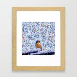 Beautiful Little Barn Swallow Framed Art Print