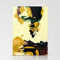 Stationery Cards featuring Not so Green Lantern by  Maʁϟ