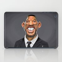 actor iPad Cases featuring Celebrity Sunday ~ Will Smith by rob art | illustration