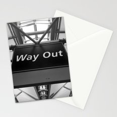 Way Out Stationery Cards