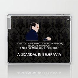A Scandal in Belgravia - Jim Moriarty Laptop & iPad Skin