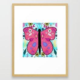 Butterfly of Change Framed Art Print