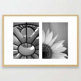 1, 2, 3 Soleil Framed Art Print
