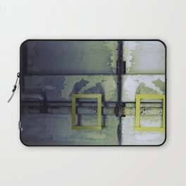 A Yellow Square Laptop Sleeve