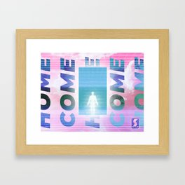 Come Home Framed Art Print