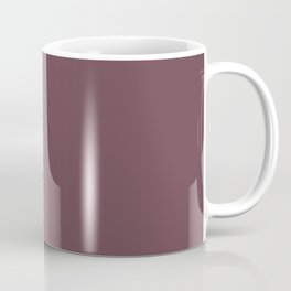 Dunn and Edwards 2019 Curated Colors Wine Stain (Dark Grape Purple) DEA145 Solid Color Coffee Mug