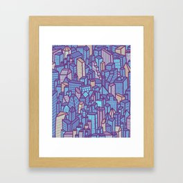 night city Framed Art Print