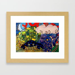 CRB Thinking about Home Framed Art Print