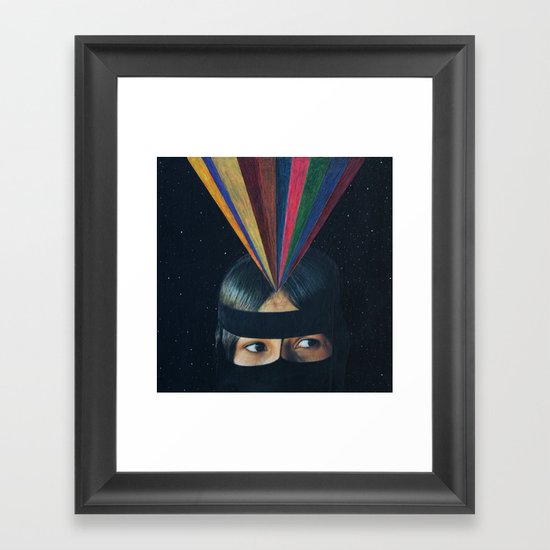 Secret Source Framed Art Print