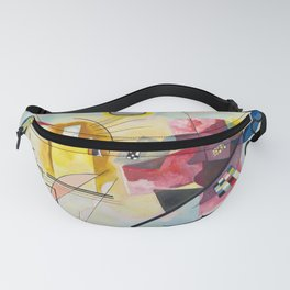 Kadinsky, Red Yellow Blue Fanny Pack