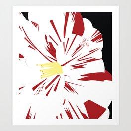 Camellia Flower Art Print