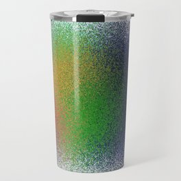 sprayed color Travel Mug