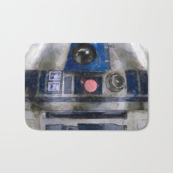 R2D2 Droid Robot StarWars Bath Mat