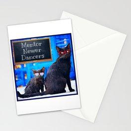 Milonga Cat - Mentors Newer Dancers Stationery Cards