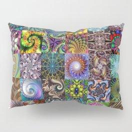 Fractals Montage Pillow Sham