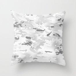 Camouflage: Alpine Throw Pillow