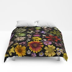 Flowers of Plants Native to Manitoba, Canada Comforters
