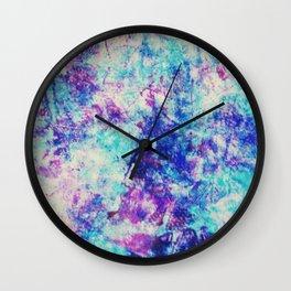 Fußabdruck Wall Clock