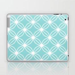 Abstract Circle Dots Mint Laptop & iPad Skin