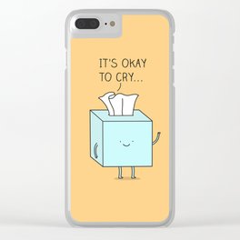 Tissue Clear iPhone Case