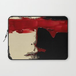 Thinking Red Laptop Sleeve