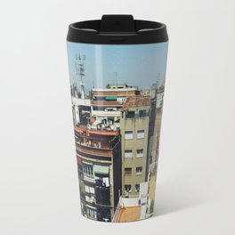 Roofs of Barcelona Travel Mug