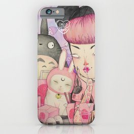 Noodle Eater iPhone Case