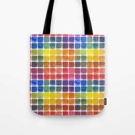 Mix it Up! - Watercolor Mixing Chart Tote Bag