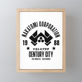 Nakatomi Corporation Framed Mini Art Print