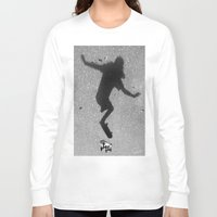 skate Long Sleeve T-shirts featuring Skate by Keepcalmdude