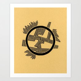 Dendrite Art Print