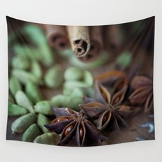 Chai Spices Wall Tapestry