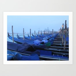Dawn over Venice Art Print