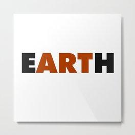 Earth Art Metal Print