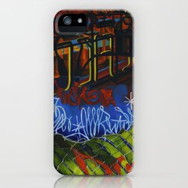 NEON CITY iPhone Case