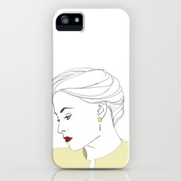 The Woman iPhone Case