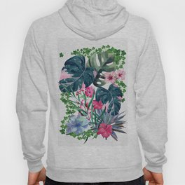 Tropical Plants Hoody