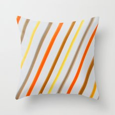 Linear Throw Pillow