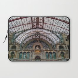 Antwerp Central Train Station Laptop Sleeve