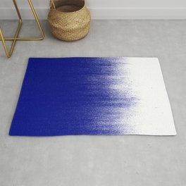 Ink Blue Ombré Rug