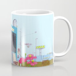 The asphalt cutter Coffee Mug