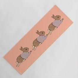 Jumping Bunny Yoga Mat