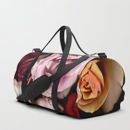 Red, White, Yellow, and Pink Roses Duffle Bag